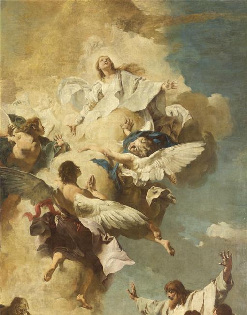 L'Assomption de la Vierge, 2,45 m x 5,17 m Paris, Musée du Louvre
