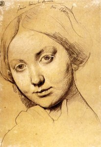 Ingres-Study-for-Vicomtesse-d-Haussonville-born-Louise-Albertine-de-Broglie2
