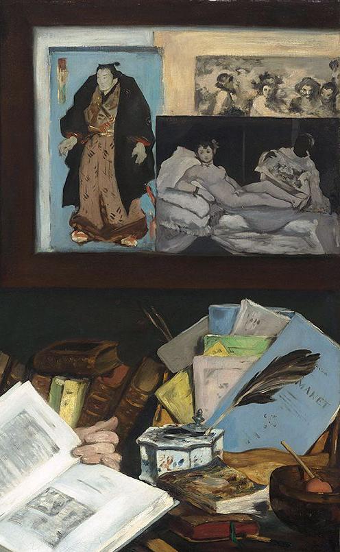 Manet Edouard (1832-1883). Paris, musÈe d'Orsay. RF2205.