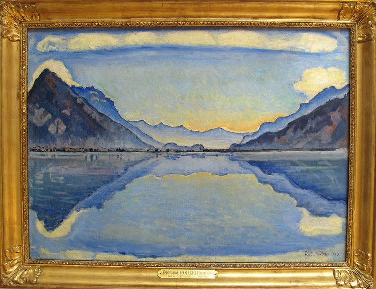 ferdinand_hodler_il_lago_di_thoune_1909