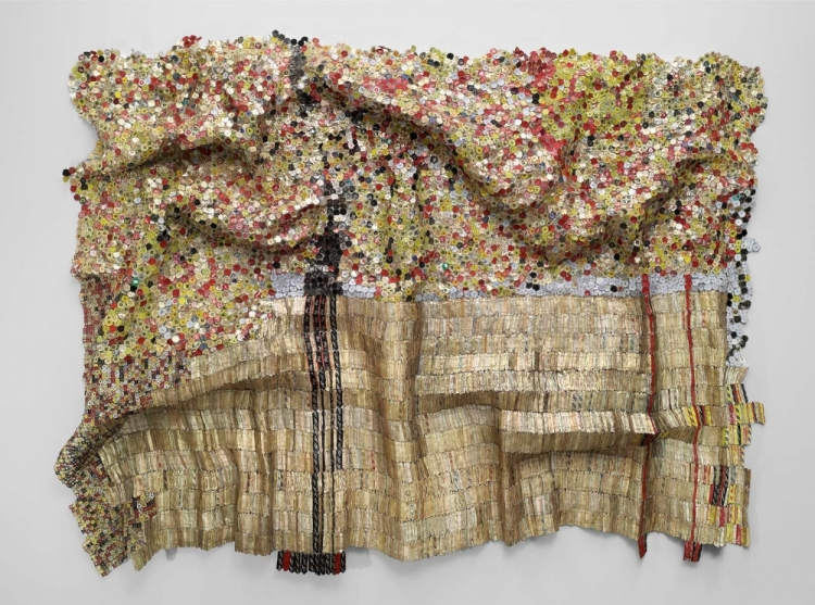 el-anatsui-black-river