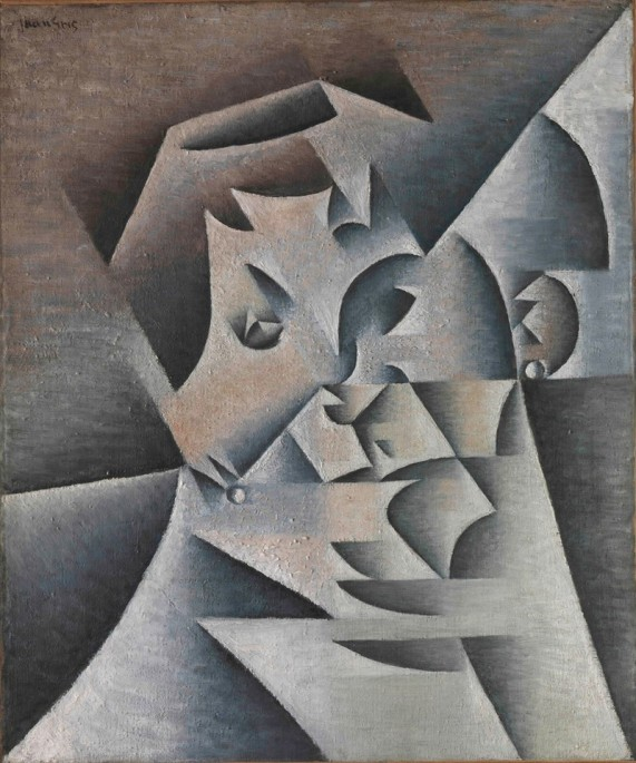 juan-gris-spanish-1887-1927-head-of-a-woman-portrait-of-the-artists-mother-1912