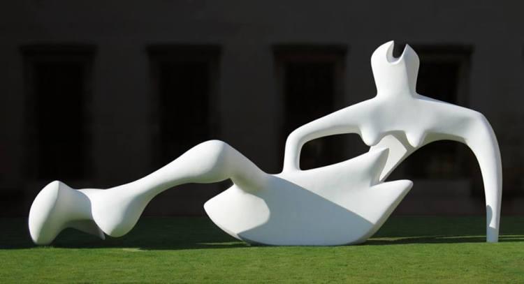 Henri Moore_Figure etendue _1951_Reclining Figure_