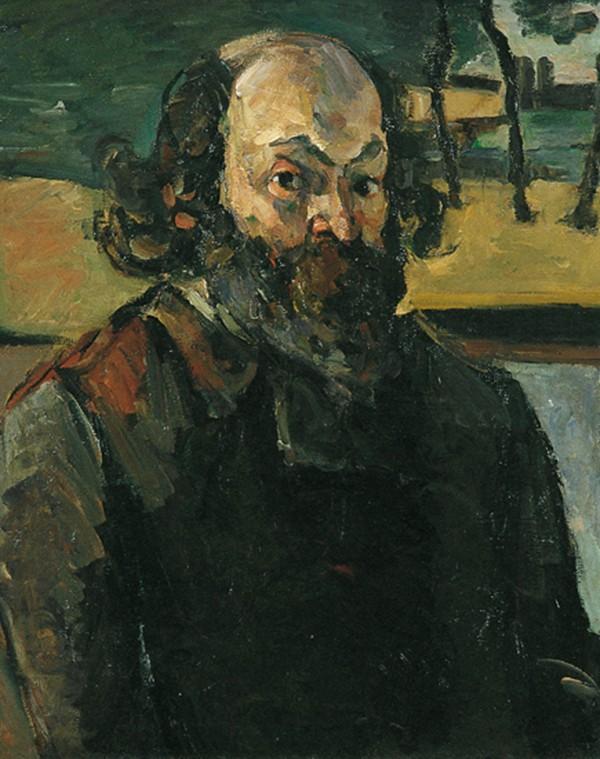 autoportraitCézanne