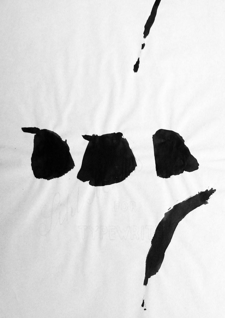 galerie_francoise_livinec_Tal Coat_Sans titre, Lavis, 29.7 x 21 cm