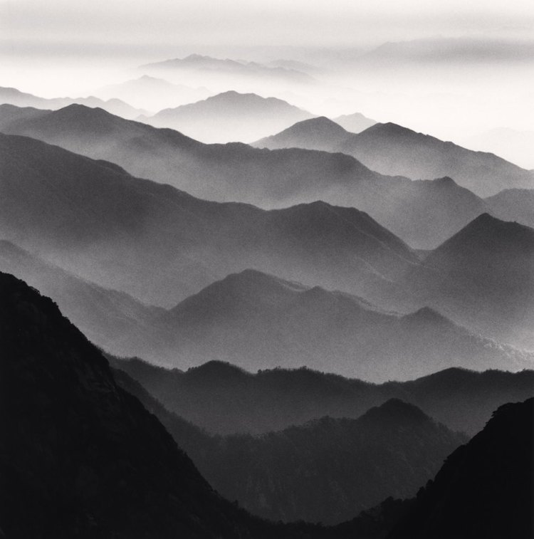 Huangshan Mountains, Study 42, Anhui, China. 2010 © Michael Kenna copie