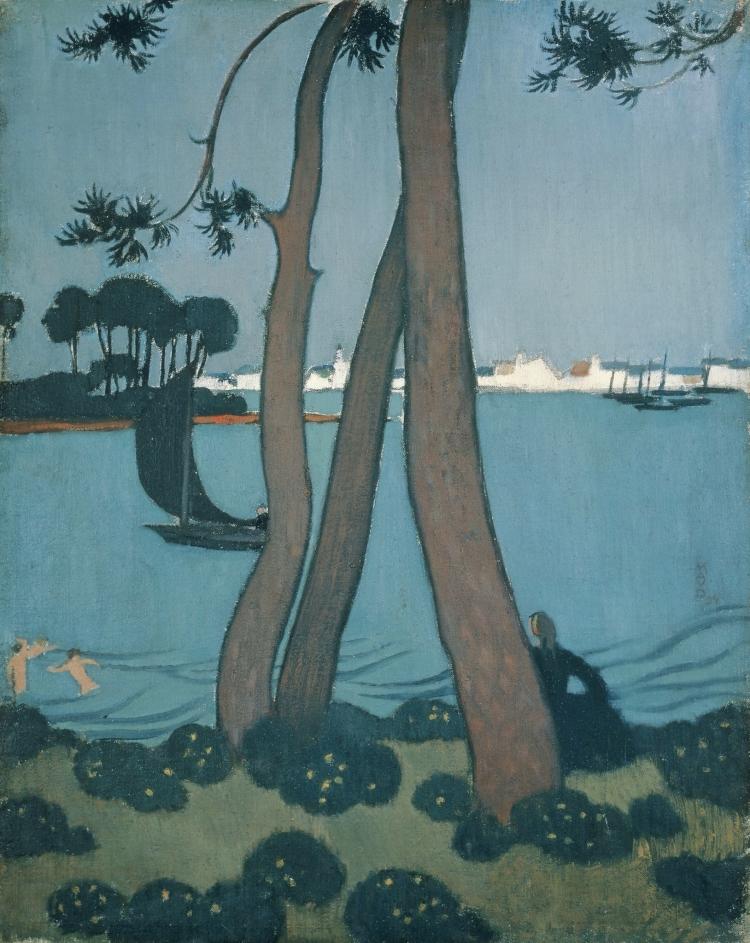 Les pins à Loctudy Maurice Denis