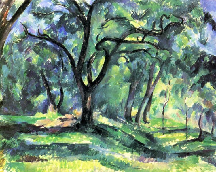 Cézanne_Forêt
