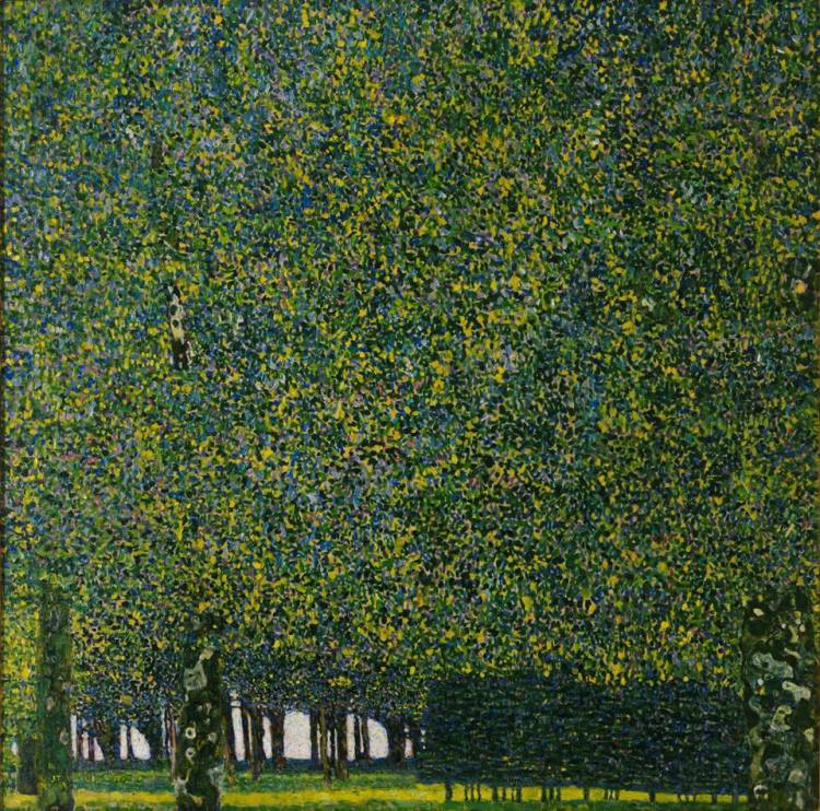 Gustav Klimt. The Park. 1910 or earlier