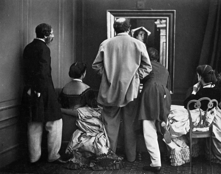 Olympe Aguado - Admiration - Epreuve à l'albumine (1860)