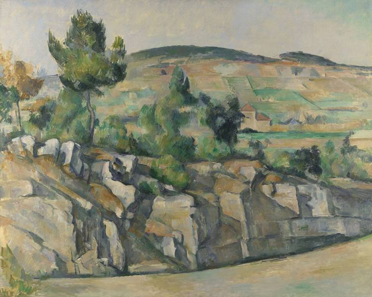 Paul Cézanne's Hillside in Provence