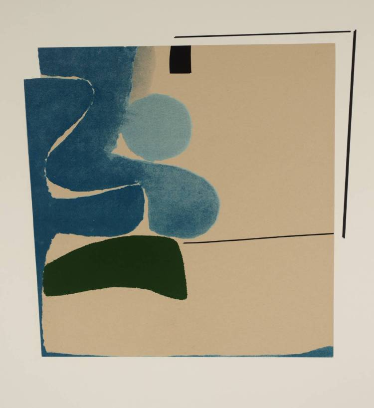 Points of Contact No. 8 1966 by Victor Pasmore 1908-1998