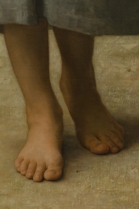 Bouguereau-The-Water-Girl-detail-2
