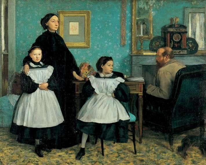 Edgard Degas_La famille Bellelli_1858_250X200_Orsay