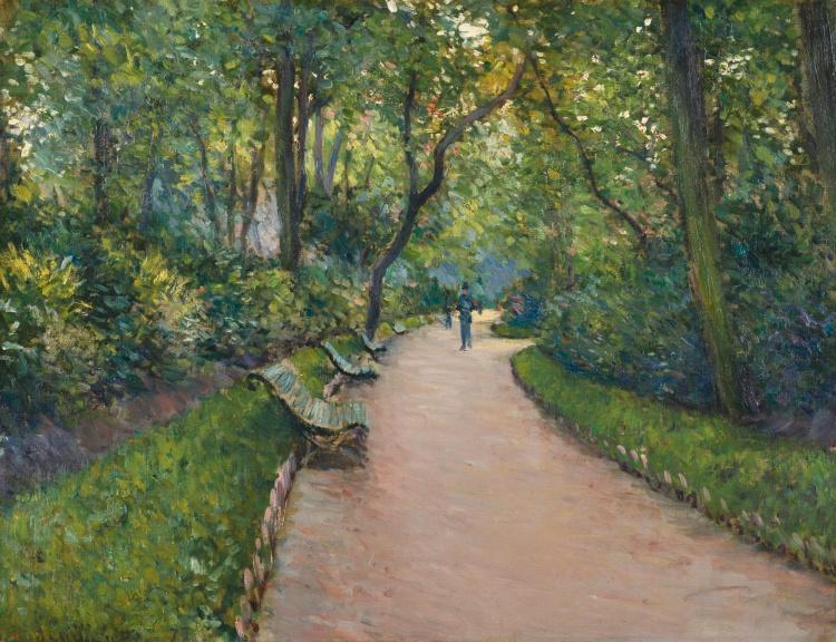 GUSTAVE_CAILLEBOTTE_1848_-_1894_LE_PARC_MONCEAU