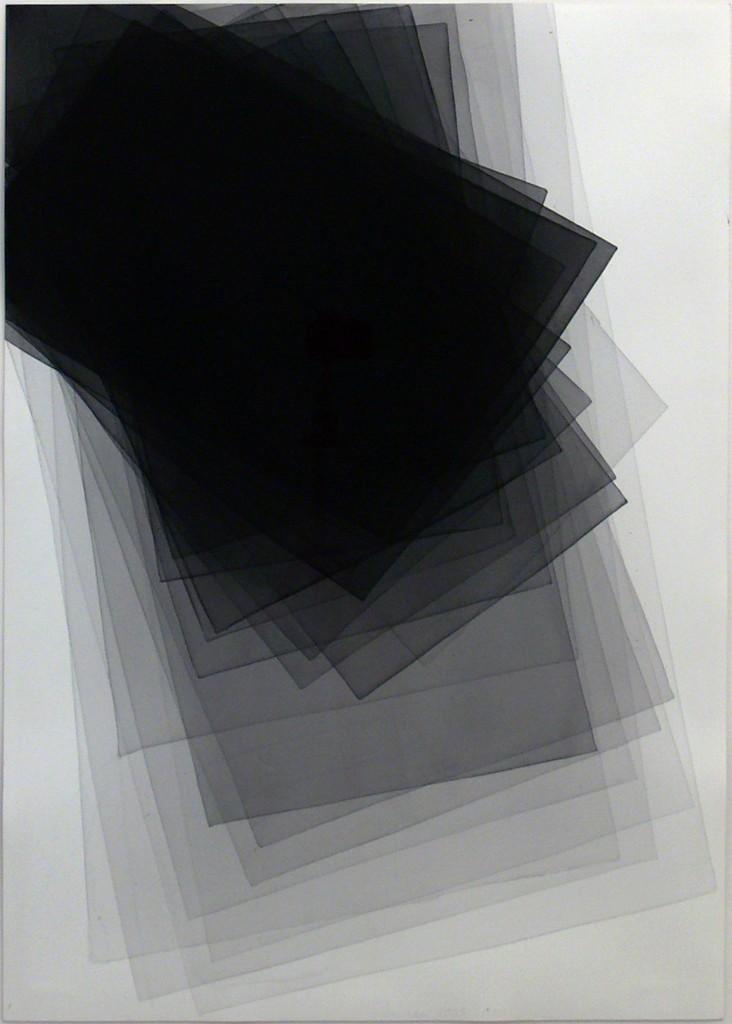 Untitled 2009, Joahim Bandau,100 × 70 cm