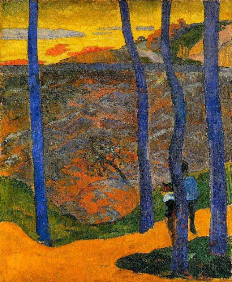 Arbres bleus_Paul Gauguin Ordrupgaard Collection, Copenhagen, Denmark