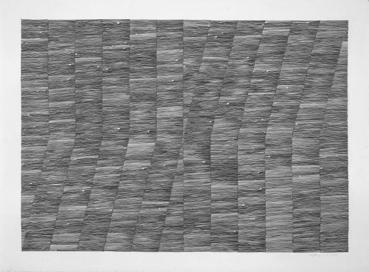 Inger Johanne 8, 2013 22.25 x 30. Pencil