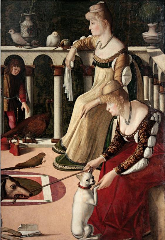 Les Courtisanes_vers1490_Vittore Carpaccio_Tempera & huile sur bois_94 x 64 cm_Venise_musée Correr