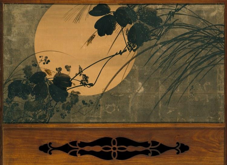 Shibata Zeshin, moonlight
