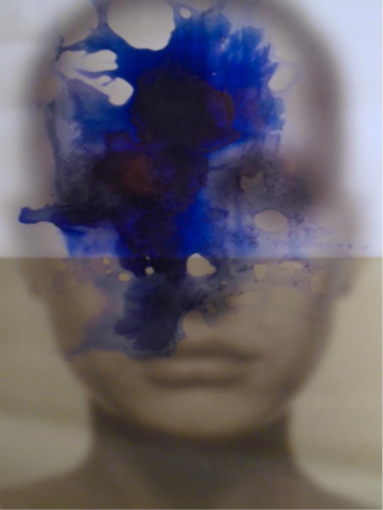 HALIM AL KARIM, Schisofrenia 7, 1987, tirage jet encre pigmentaire 180 x 130 cm copie