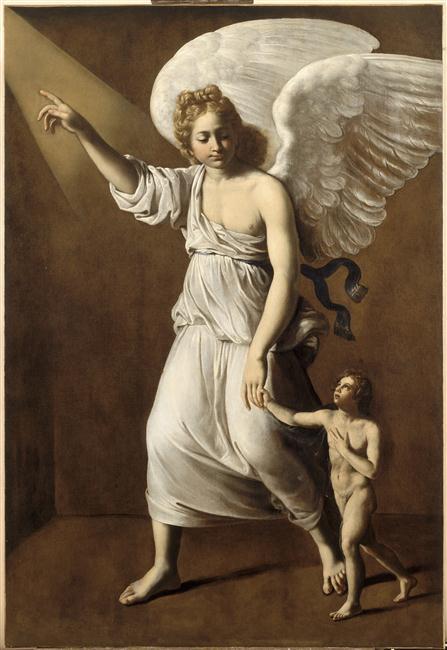 Ange gardien Antiveduto Grammatica