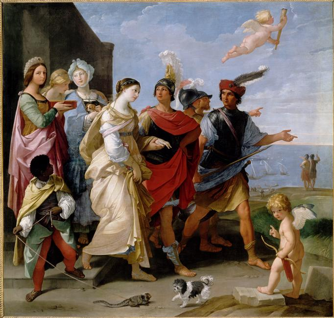 l'Enlèvement d'Hélène, 1631, Guido Reni, Musée du Louvre