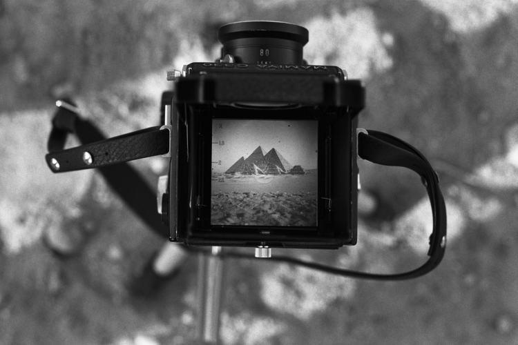 5 avril 1981, Gizeh, Égypte © Denis Roche