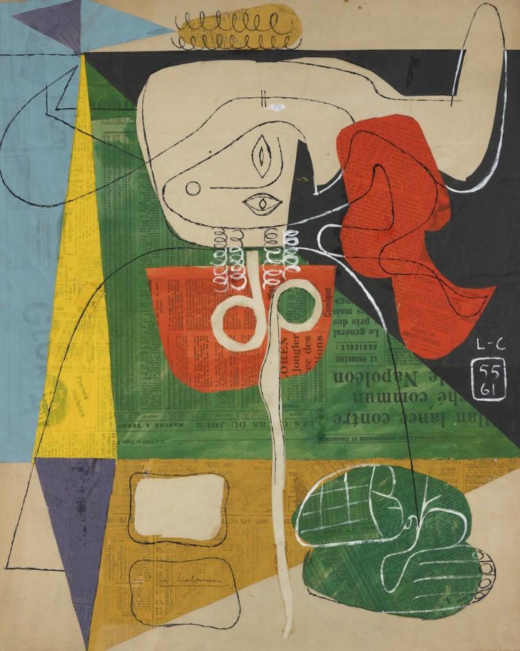 Le Corbusier [+] Taureau X, 1961 Oeuvres sur papier 57 x 45 cm