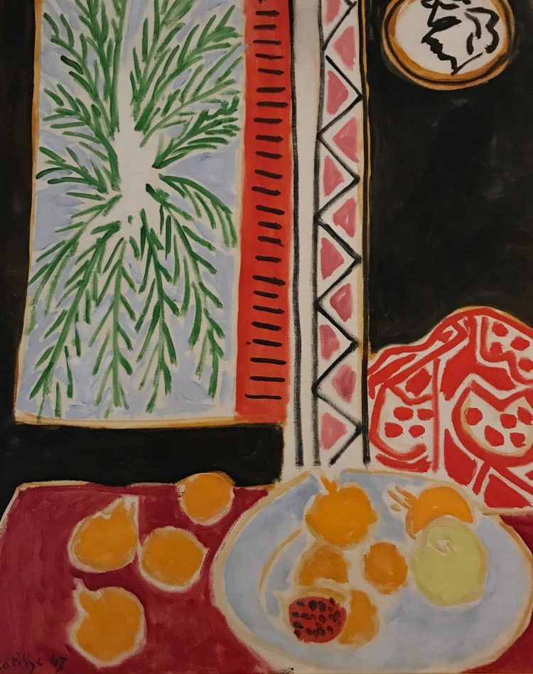 Nature morte aux grenades,1947, Henri Matisse, huile sur toile, Nice, musée Matisse