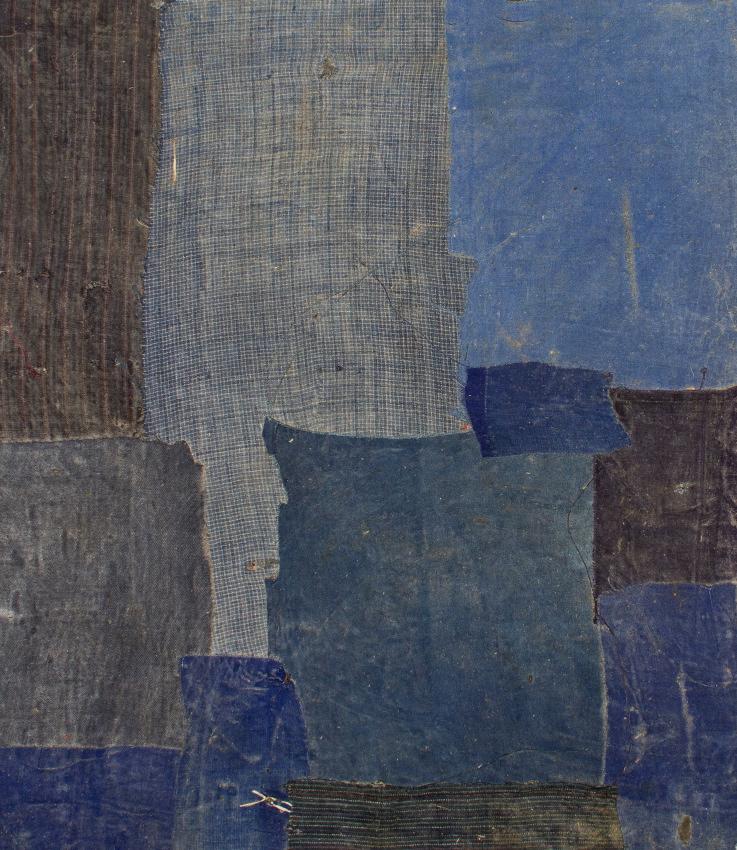 Ge Ba, peinture de tissus, Chine, ca 1950,