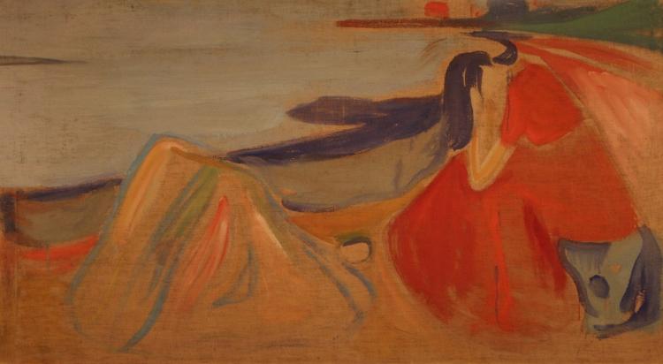 Mélancolie Munch Edvard (1863-1944) Allemagne, Berlin, Nationalgalerie, Staatliche Museen zu Berlin