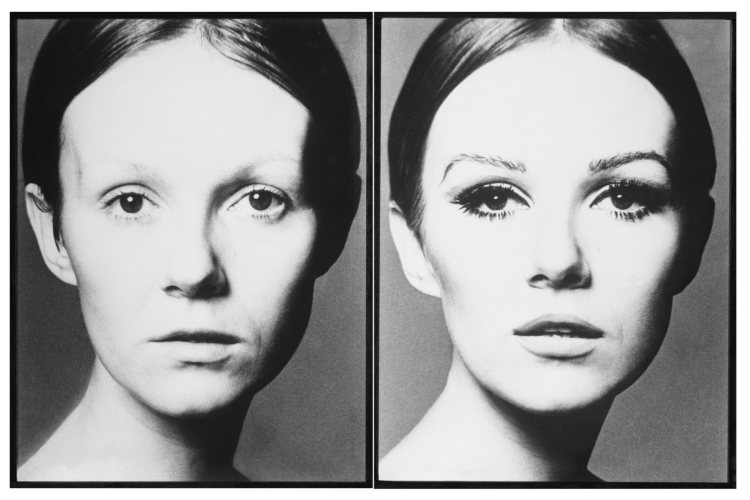 Pour-Elle-Nicole-De-Lamargé-Avant-Après-1965-©-Peter-Knapp