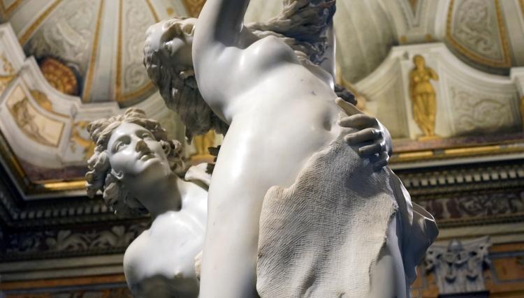 Apollon et Daphné, détail 2, 1622_1625, Gian Lorenzo Bernini, dit Le Bernin (1598-1680), marbre, H 243 cm., Rome Galerie Borghèse